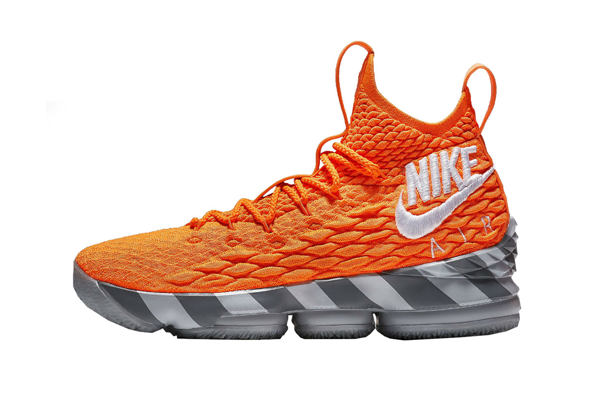 Nike Lebron James 15 Orange Box Release