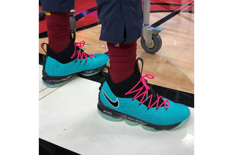 lebron 15 south beach shoes