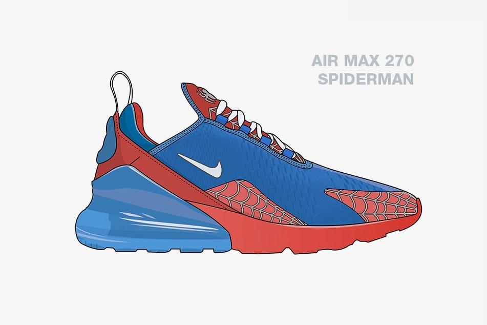Marvel Avengers x Nike Sneaker Concepts