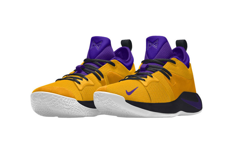 Nike PG2 NIKEiD Paul George Nike Basketball footwear