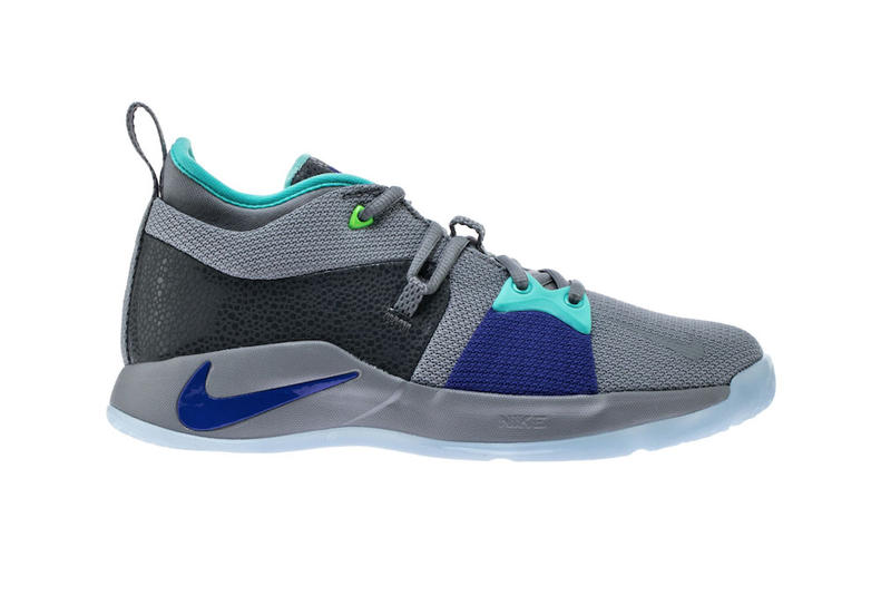 f4cf4f279f2b Nike PG2 Pure Platinum Neo Turquoise Wolf Grey Aurora Green April 6. 1 of  2. Sneakerbardetroit