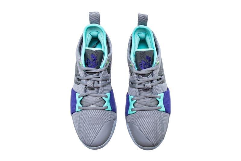 Nike PG2 Pure Platinum Neo Turquoise Wolf Grey Aurora Green April 6