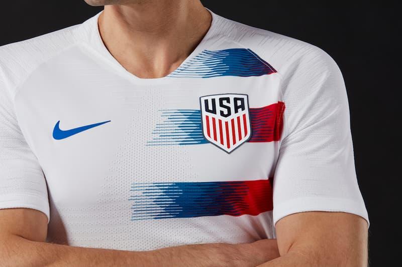 buy popular d1446 c731d Nike Unveils Team USA 2018 Football Kits | HYPEBEAST