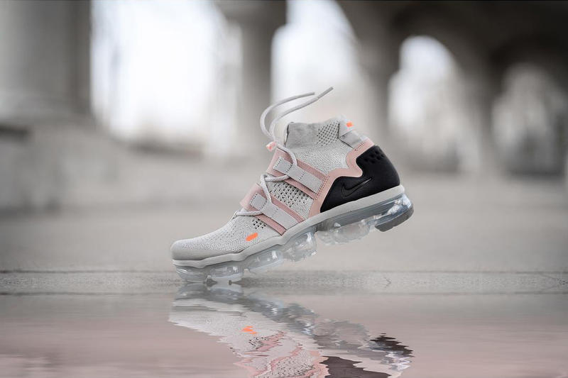 Nike Air VaporMax Utility Grey Pink Black sneakers footwear