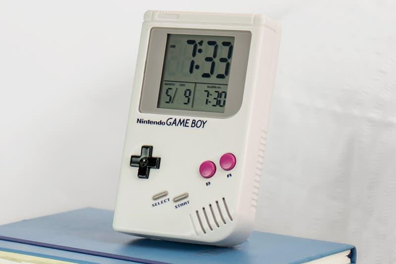 Nintendo Game Boy Alarm Clock release info Super Mario Land