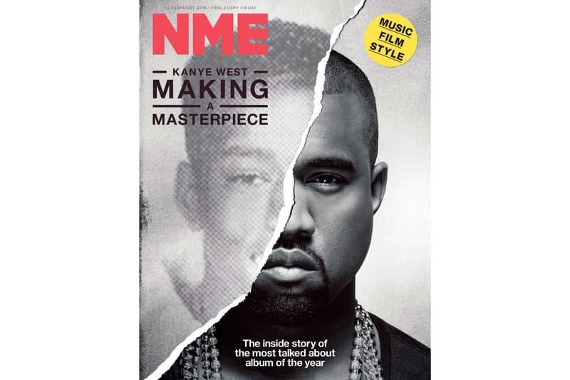 NME Print Magazine New Musical Express magazines print British kanye west