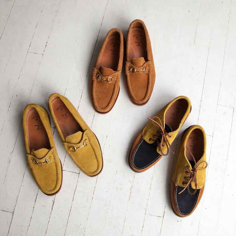NOAH Suede Bit Loafer Tricolor Trail Oxford spring summer 2018 march 15 release date info drop shoes footwear