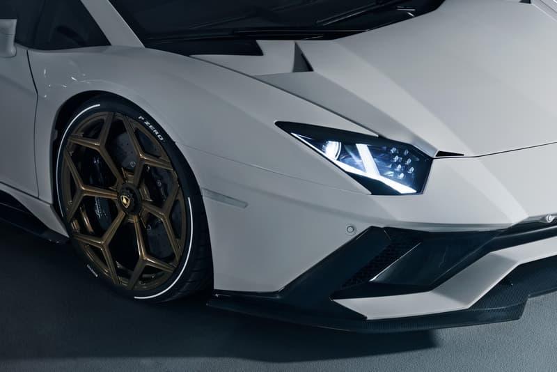 NOVITEC Lamborghini Aventador S customize upgrade sportscar