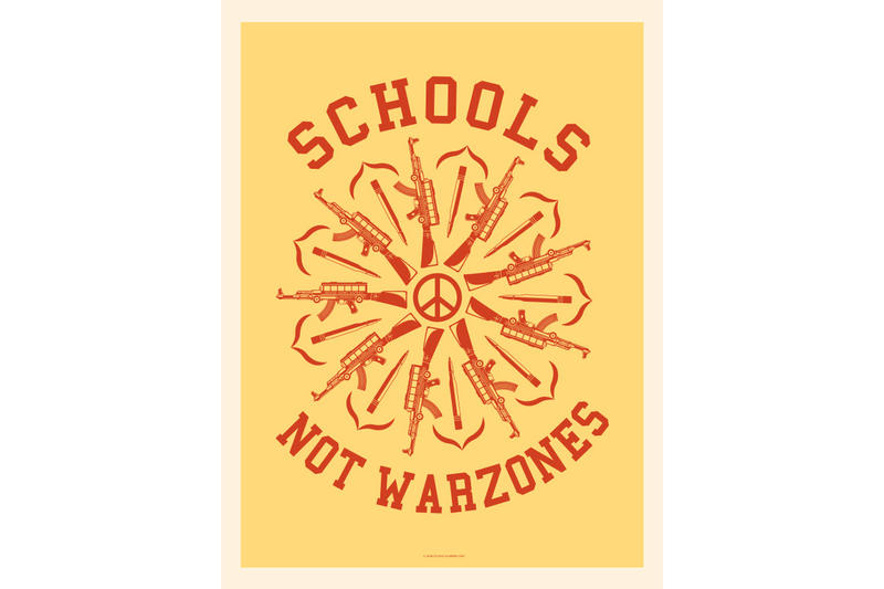 obey giant shepard fairey national school walkout posters art artwork