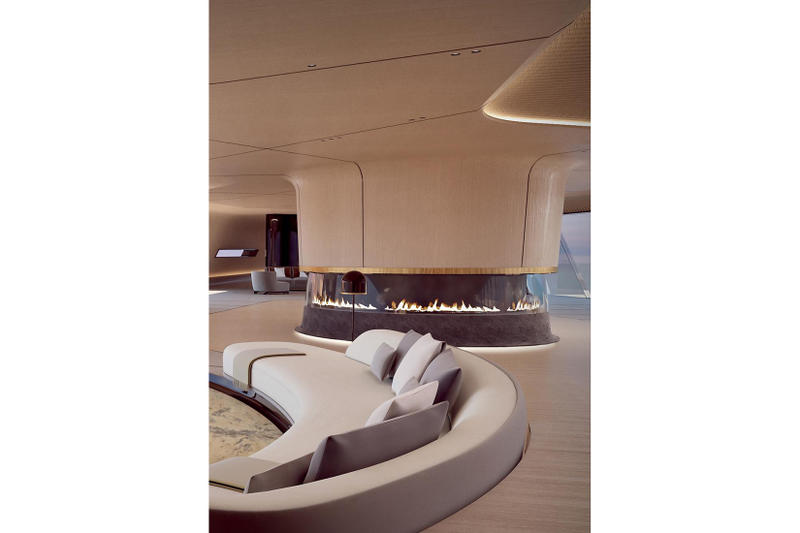 Oceanco 115 Meter Tuhura Superyacht Dubai International Boat Show Mega Yacht Big Yacht Charter Super Mega Yacht For Hire Luxury Yacht