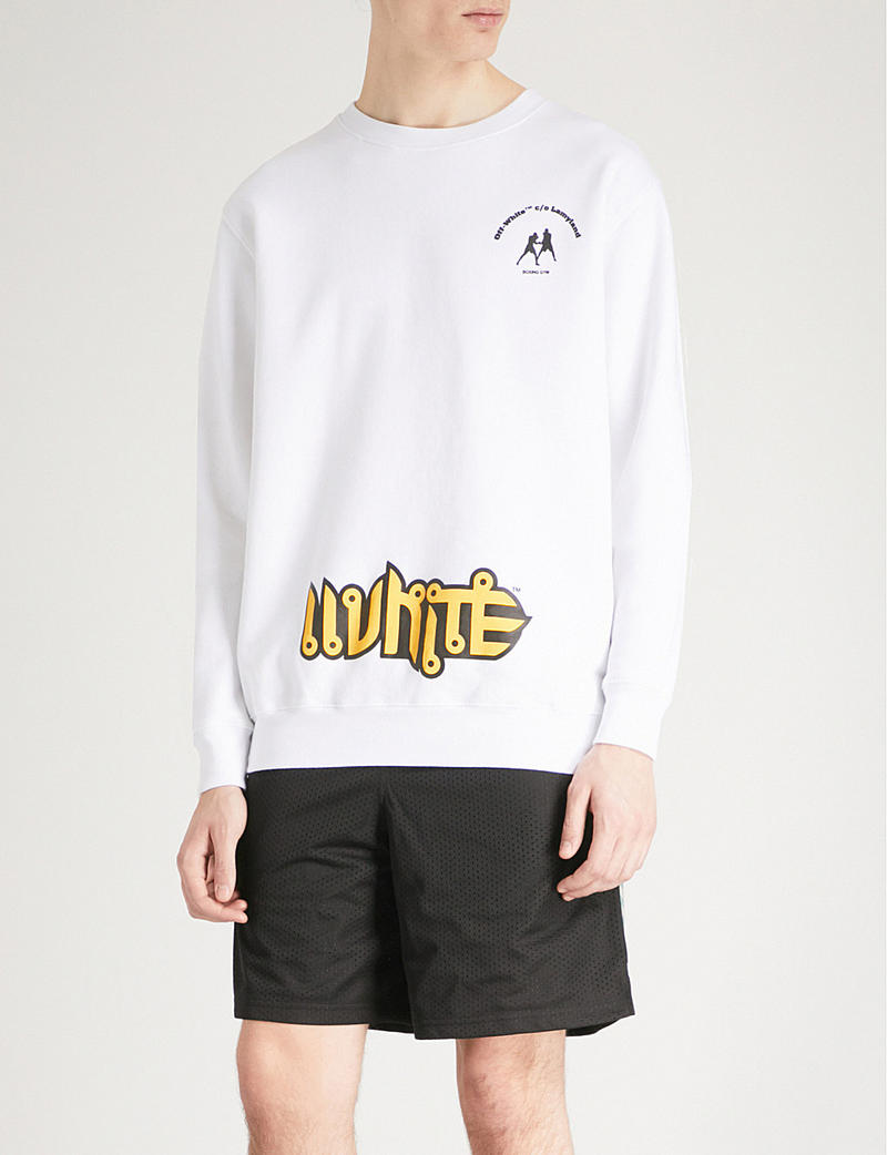 Off White Lamyland Michele Lamy Boxing Selfridges Virgil Abloh White Black Yellow