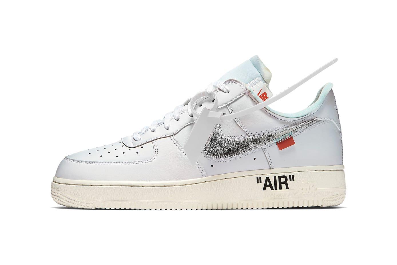 Virgil Abloh x Nike Air Force 1 White