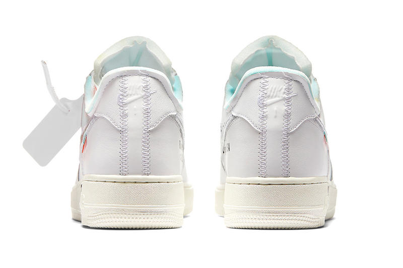 Off-White™ Virgil Abloh x Nike Air Force 1 White Complex Con Version Exclusive 2018 The Ten