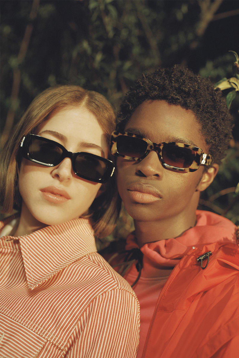 Off White Virgil Abloh Sunglass Hut capsule collection release date info drop sunglasses