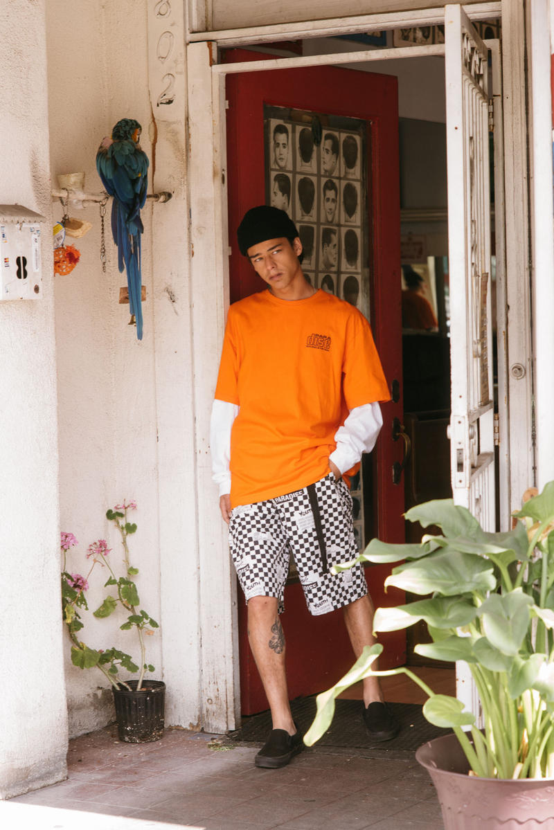Paradis Youth Club Spring Summer 2018 Collection Lookbook April release shirts shorts trousers