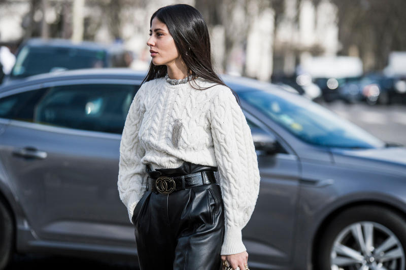 Paris Fashion Week Fall/Winter 2018 Streetsnaps Part 2 Street Style