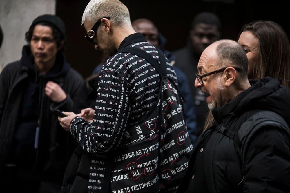 Paris Fashion Week Fall/Winter 2018 Streetsnaps Part 2 Street Style