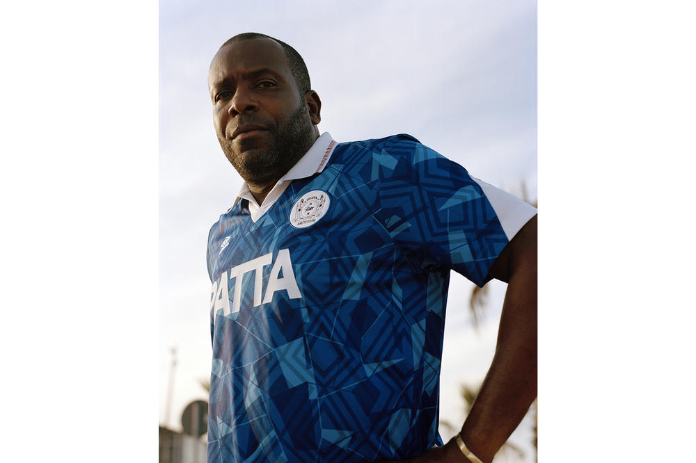 Patta Umbro Spring/Summer 2018 Collaboration Soccer Kit Football Jersey Stanley Menzo Ajax Amsterdam London Kyle Weeks