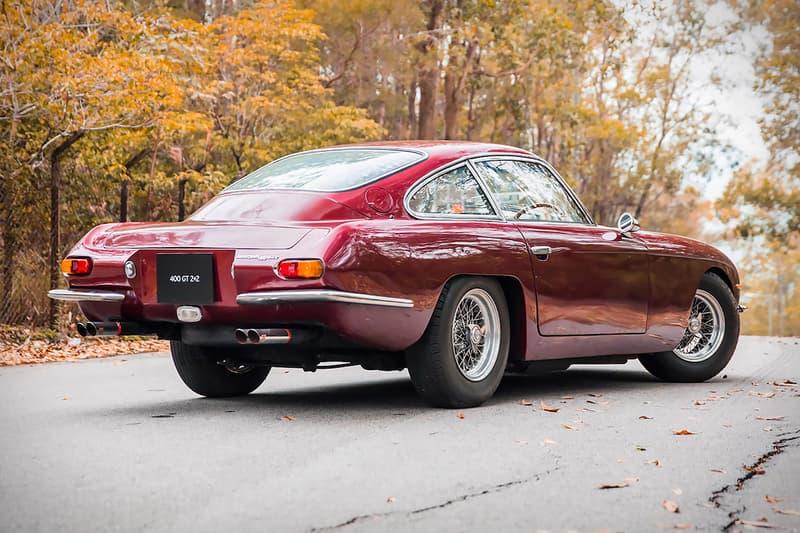 Paul McCartney 1967 Lamborghini 400 GT For Sale auction beatles vintage car bonhams