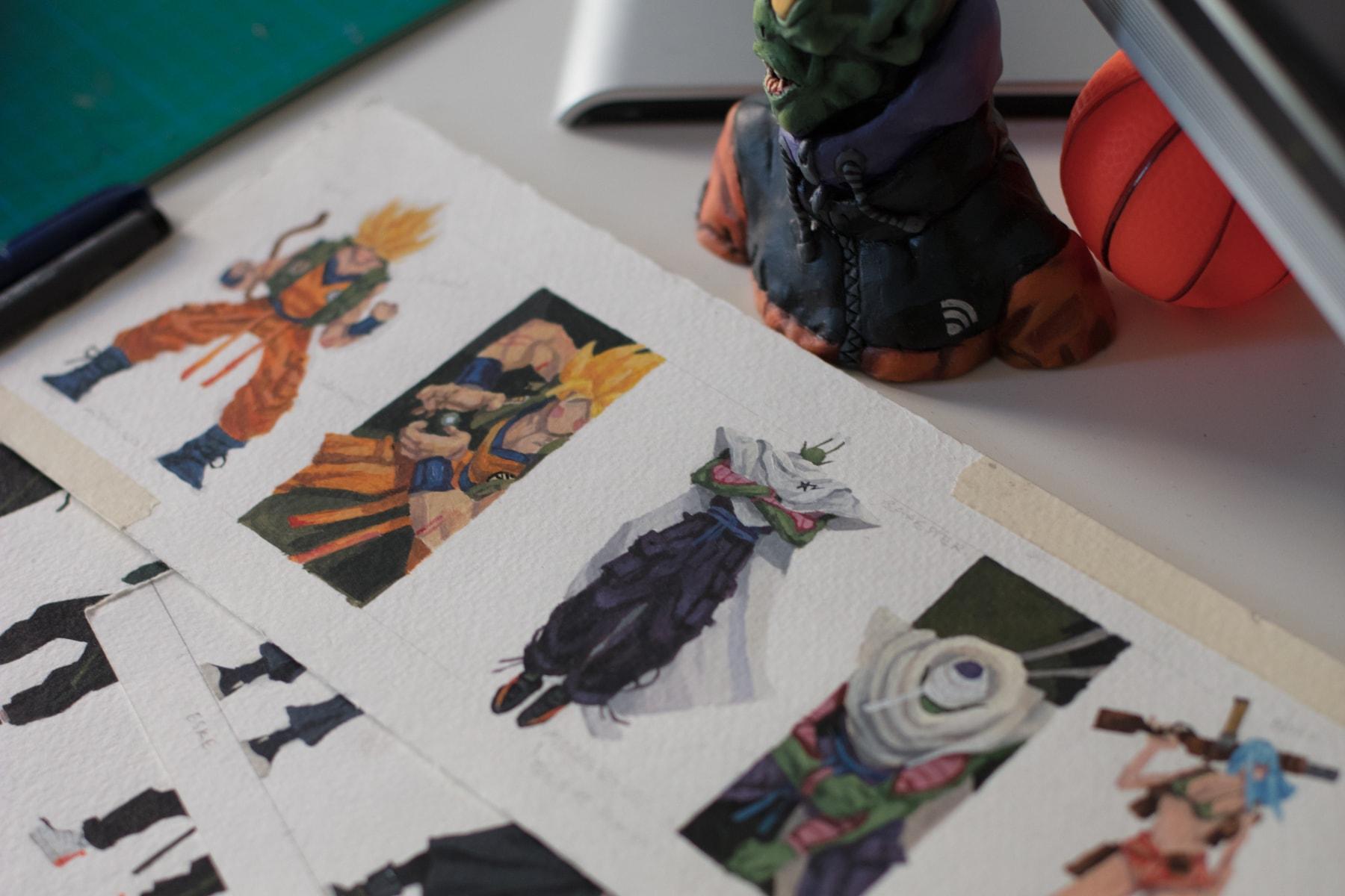 Pen & Paper: Moya Gang.Box Garrison-Msingwana interview drawings art