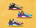 The Pharrell Williams x adidas Originals Solar NMD Hu Pack Is Slated for a Summer Release