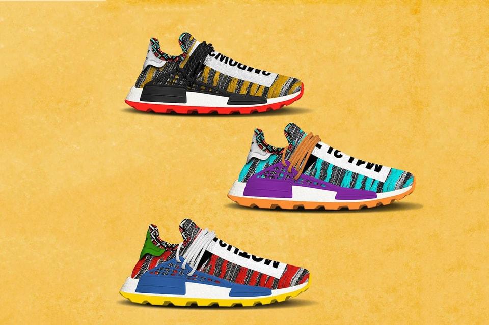 b14ecf411 Pharrell x adidas Afro NMD Hu Pack Release