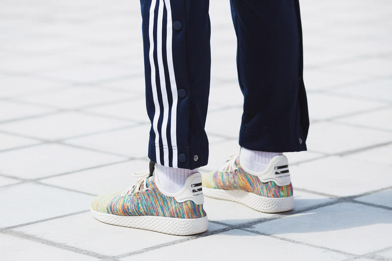 3046f006d4eb1 Pharrell Williams adidas Tennis Hu Multicolor On Feet march 3 2018 release  date info drop sneakers