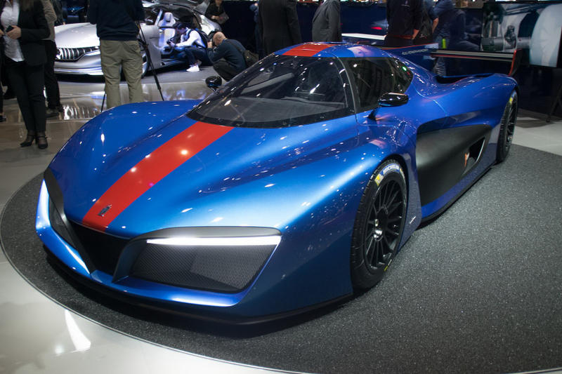 Pininfarina Hydrogen-Powered H2 Speed Track Car automotive Geneva Motor Show 2018 Le Mans