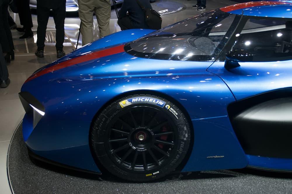 Pininfarina Hydrogen-Powered H2 Speed Track Car automotive Geneva Motor Show 2018 Le Mans