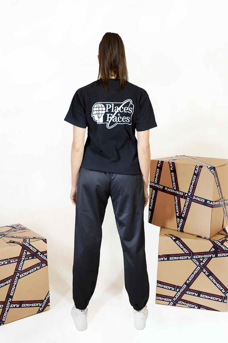 Places+Faces Ciesay Soulz First Collection Spring/Summer 2018 cut and sew graphic T-shirts photography zine lookbook