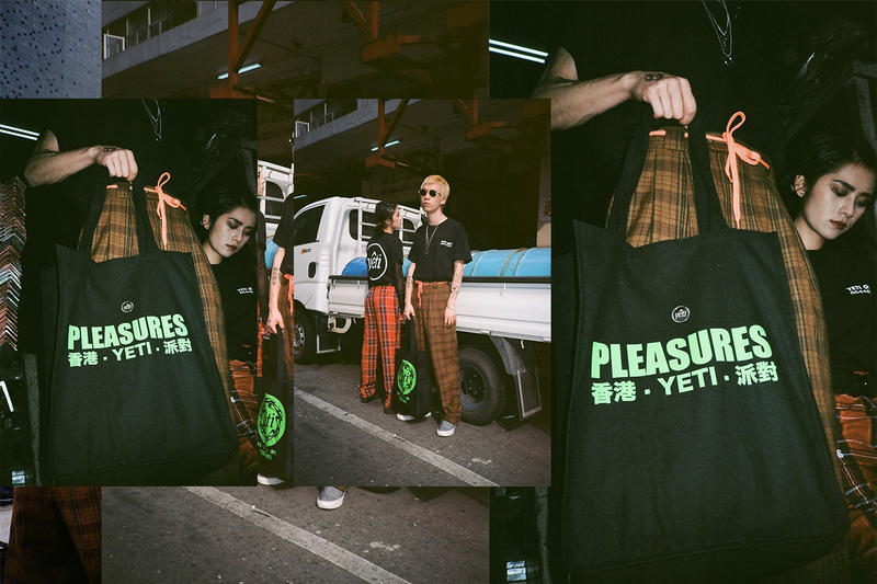 PLEASURES Yeti Out Capsule Collection fashion 2018 lookbooks art basel march 27 release date info drop