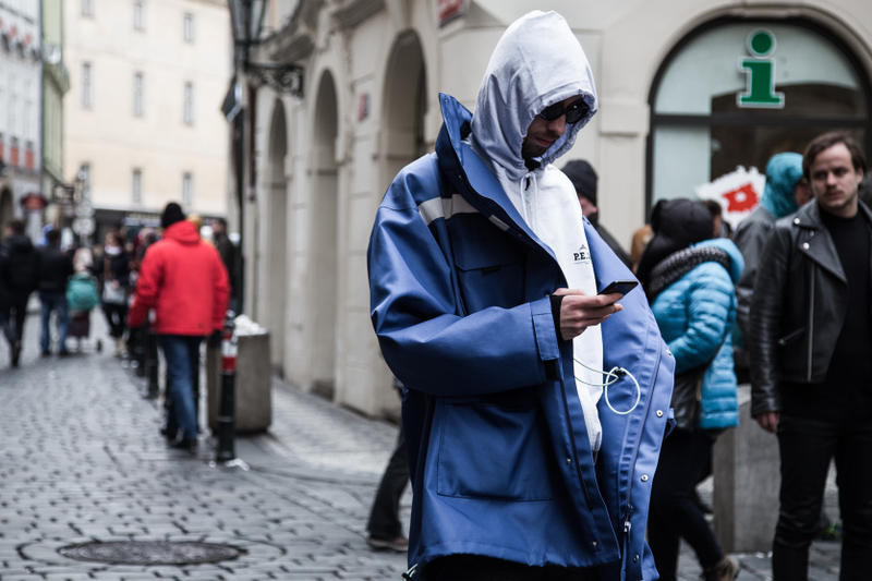 Prague Fashion Week Street Style 2018 Fall/Winter Round One 1
