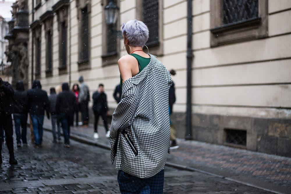 Prague Fashion Week Street Style 2018 Fall/Winter Round One 1