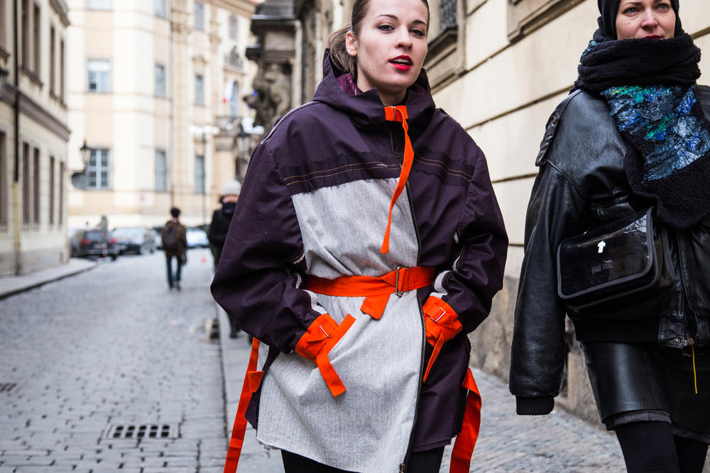 Prague Fashion Week Street Style Fall Winter 2018 Round 2