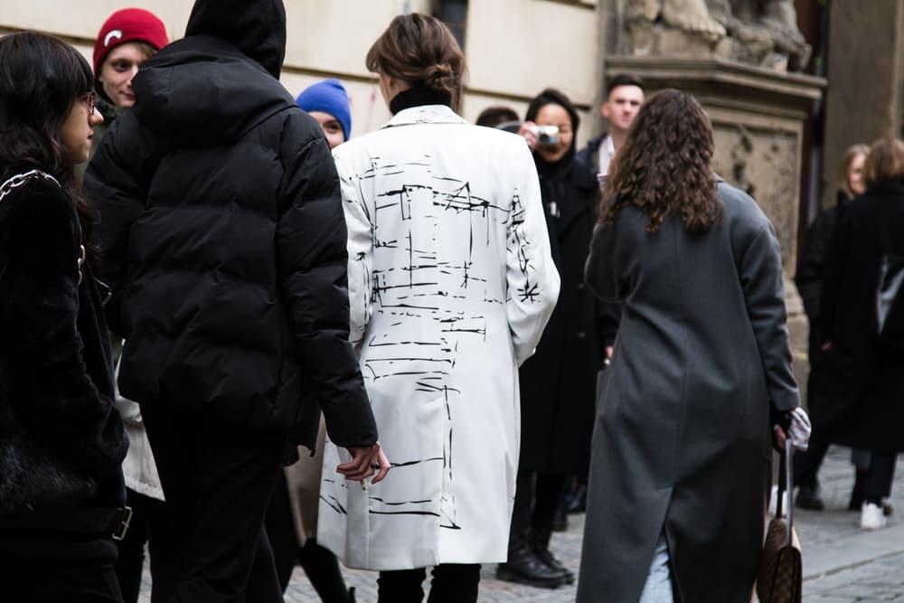 Prague Fashion Week Street Style Fall/Winter 2018 Round 3