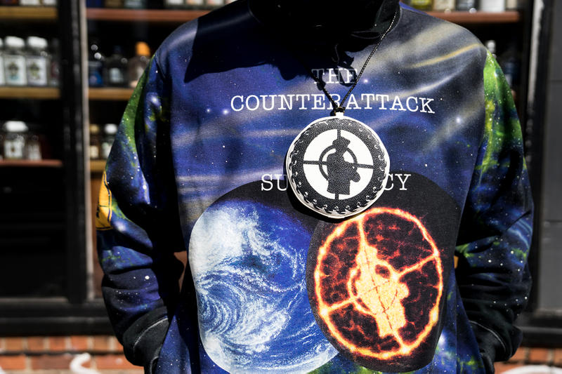 Supreme Public Enemy UNDERCOVER Collab New York City Street Style Street Snaps