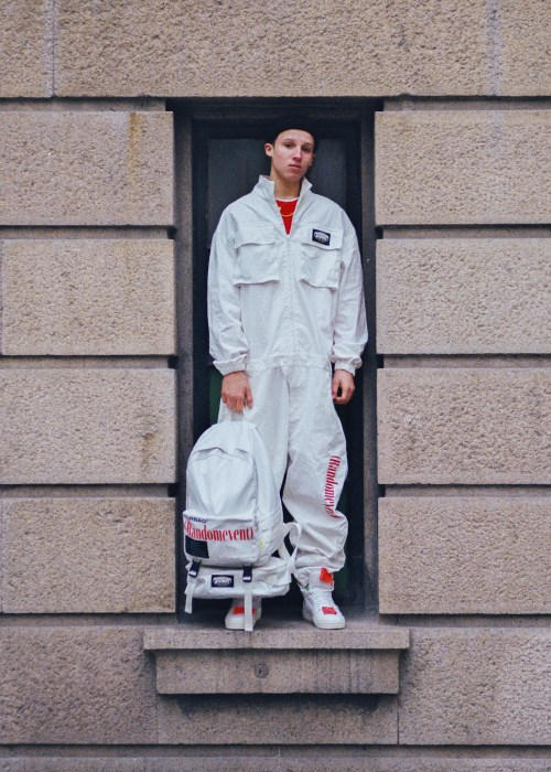 b50efeaea82 RANDOMEVENT Spring Summer 2018 ADHD Lookbook collection release date info  drop china track suit pant jacket