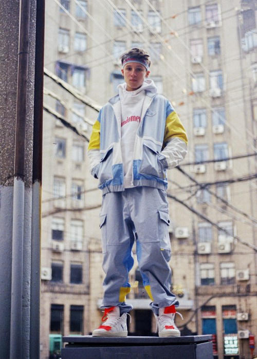RANDOMEVENT Spring Summer 2018 ADHD Lookbook collection release date info drop china track suit pant jacket branding logo