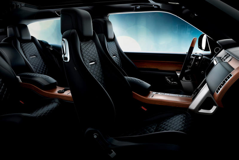 Range Rover SV Coupe geneva motor show 2018 two door land suv land rover