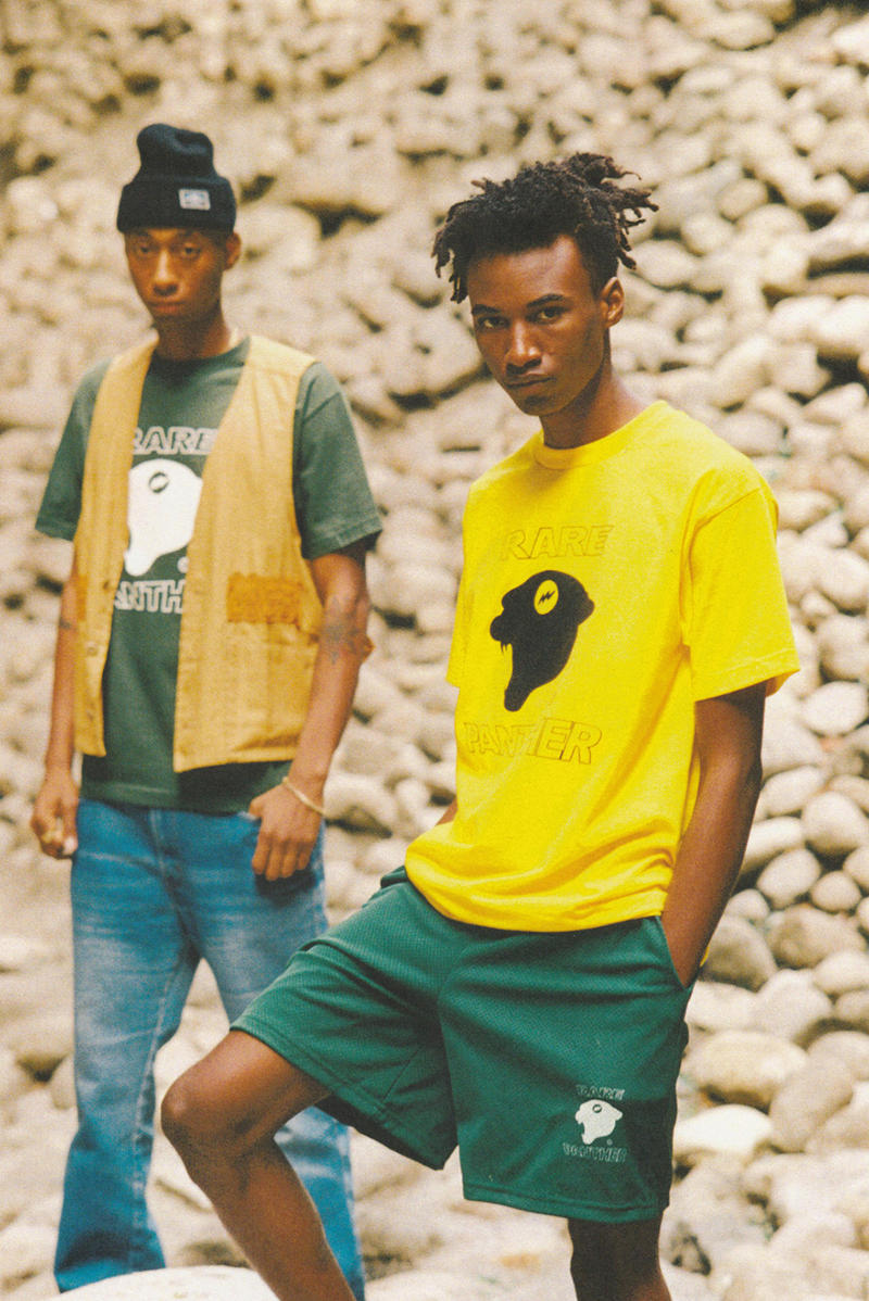 Rare Panther Spring 2018 Lookbook Cut & Sew Custom Made Pieces Bags Track Suits Shorts Jerseys Hats streetwear Act 011 Neo-America