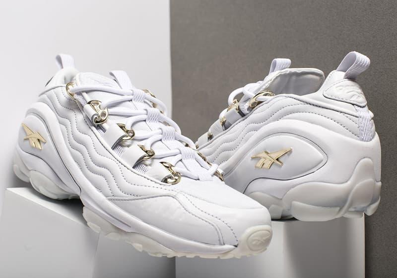 Reebok DMX Run 10 White Gold Release Info Sneakers Footwear a1b435811