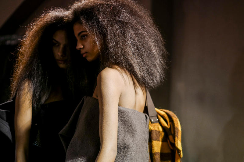 Rick Owens Fall/Winter 2018 Paris Fashion Week Backstage Imagery