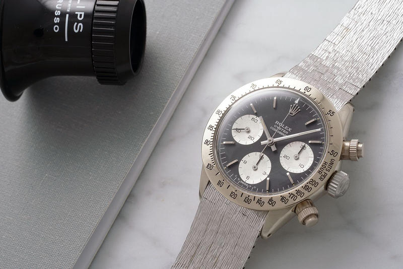 Rolex Daytona White Gold Auction Charity One Of A Kind Unique 1-of-1 Phillips Daytona Ultimatum John Goldberger