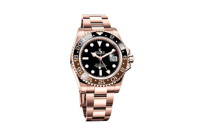 Rolex Unveils Everose Gold Gmt Master Ii Watch Hypebeast