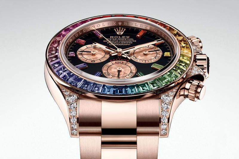 Rolex Rainbow Daytona Everose Gold Ref 116595 release date info drop watch