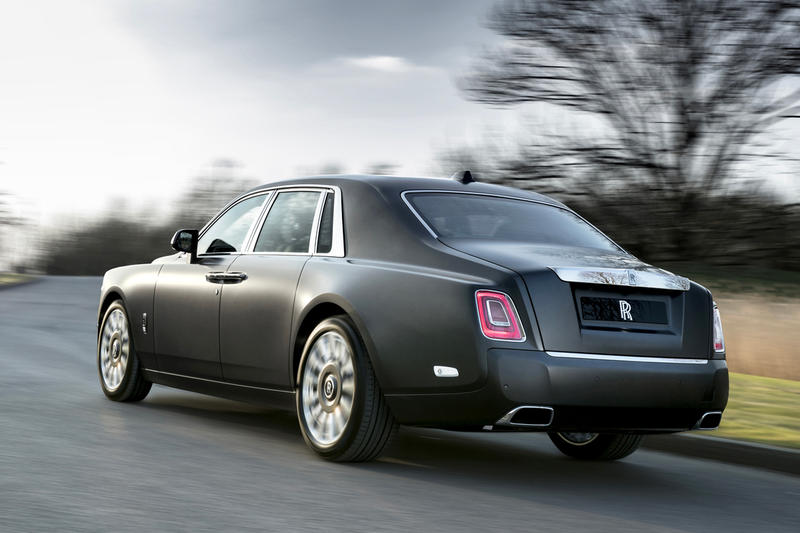 Rolls-Royce Dawn Aero Cowling Custom Phantoms Unveil The Gentleman's Tourer Whispered Muse A Moment in Time