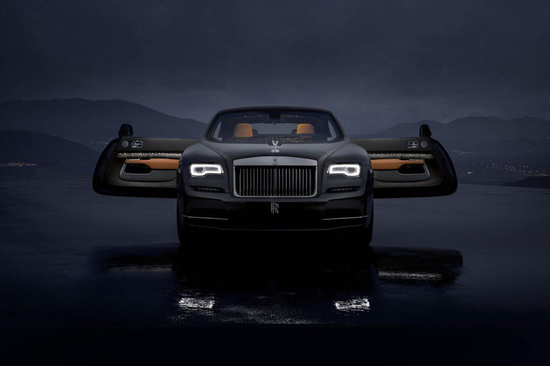 Rolls Royce Wraith Luminary Edition 2018 2019 release date info drop debut