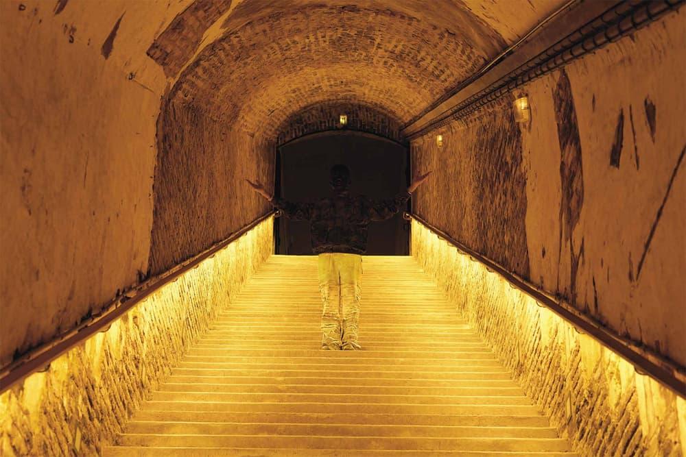 Ruinart Liu Bolin The Invisible Hands Art Exhibition Unesco World Heritage Site Art Basel