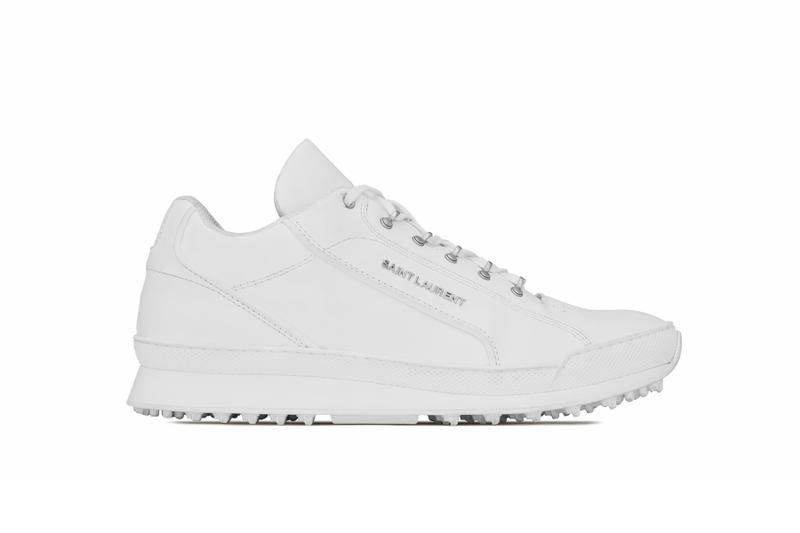 Saint Laurent Jump Sneaker Spring Summer 2018 drop release info look official chunky runner shoe white