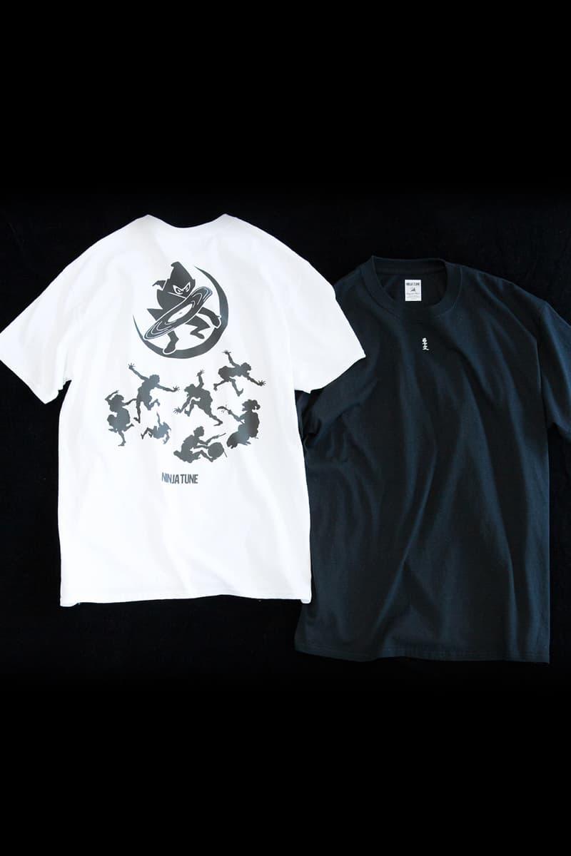 Sasquatchfabrix. x Ninja Tune x BEAMS Capsule Collection Collaboration Japanese British T-Shirts Trousers Longsleeves